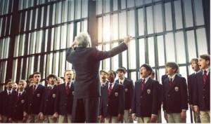 Dustin Hoffman and American Boys' Choir